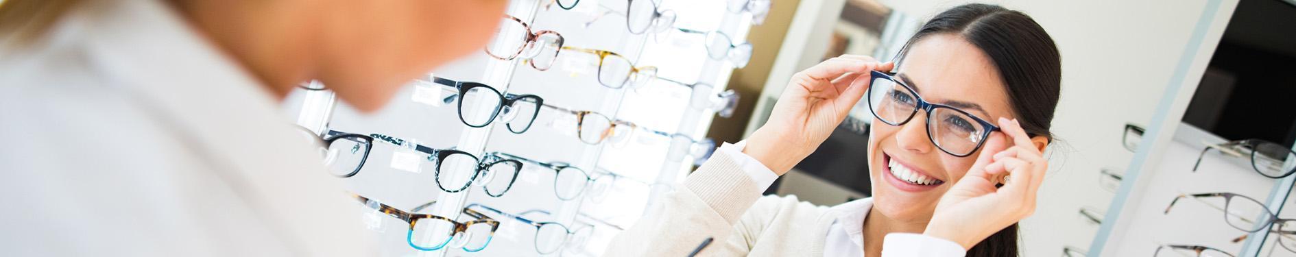przymierzenie okularów